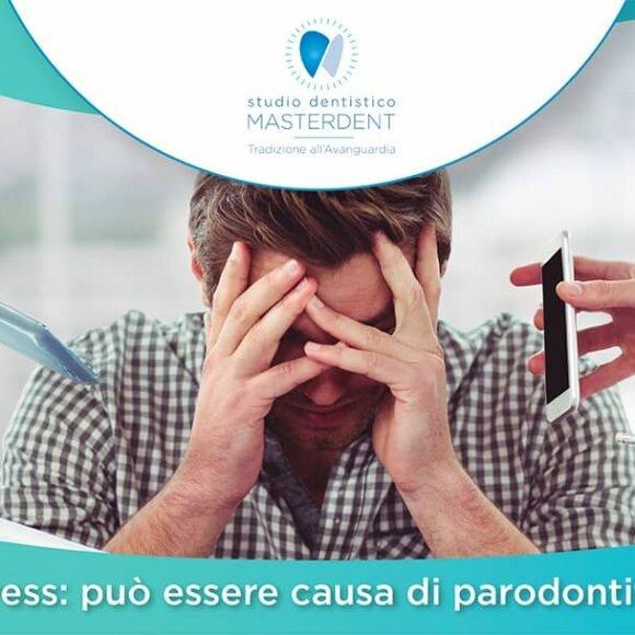 Stress: può essere causa di parodontite?